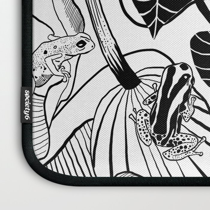Forest Frogs Laptop Sleeve