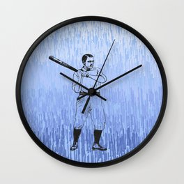 Baseball-The Boys of Summer   Wall Clock
