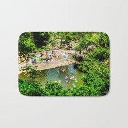 Barton Springs - Austin, Texas Bath Mat