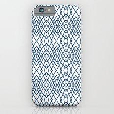 Web Navy iPhone 6s Slim Case