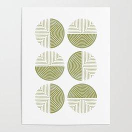 Labyrinth - Moss Poster