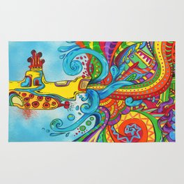 The Yellow Submarine Rug
