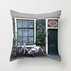 Doors and windows Throw Pillow