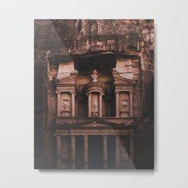 Al-Khazneh, Petra Metal Print