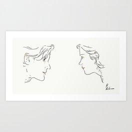 Whoufflè Art Print
