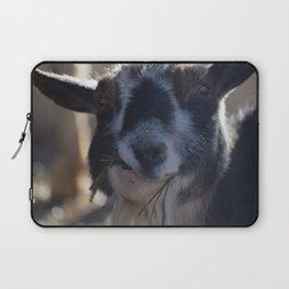 Goat Smirk Laptop Sleeve