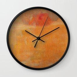 Relentless Sun Wall Clock