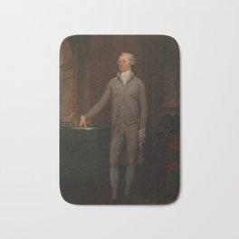 Alexander Hamilton Full-Length Portrait Bath Mat