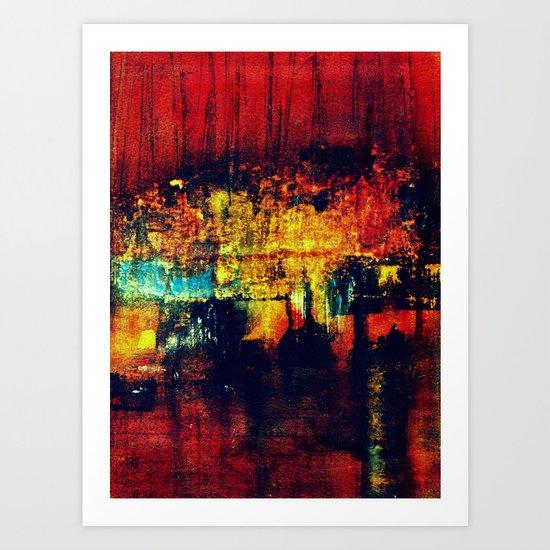 entering port Art Print