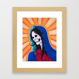 Dia de los Muertos - La Dolorosa Framed Art Print