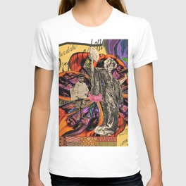 Psychedelic amarillo T-shirt
