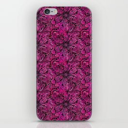 Project 196 | Magenta Floral Zentangle iPhone Skin
