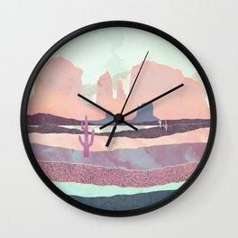 Desert Dusk Light Wall Clock