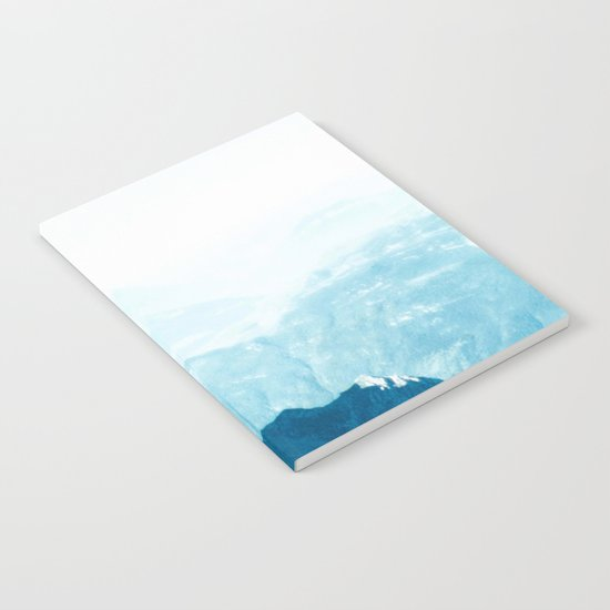 Almost there #Mountain #1 #art #society6 Notebook