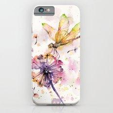 Dragonfly & Dandelion Dance Slim Case iPhone 6