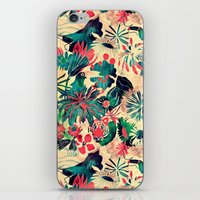 jungle iPhone & iPod Skins featuring Jungle by Demi Goutte