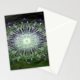 Watery Orbitals Mandala 1 Stationery Cards
