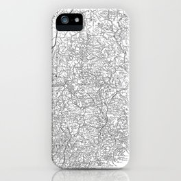 Vintage Map of Maine (1911) iPhone Case