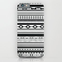 Boho Aztec Inspired Pattern iPhone Case