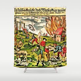 Cannibalism in Russia and Lithuania 1571 Shower Curtain