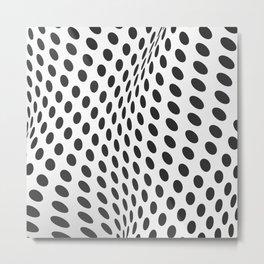 Hypno Dots 1 Metal Print