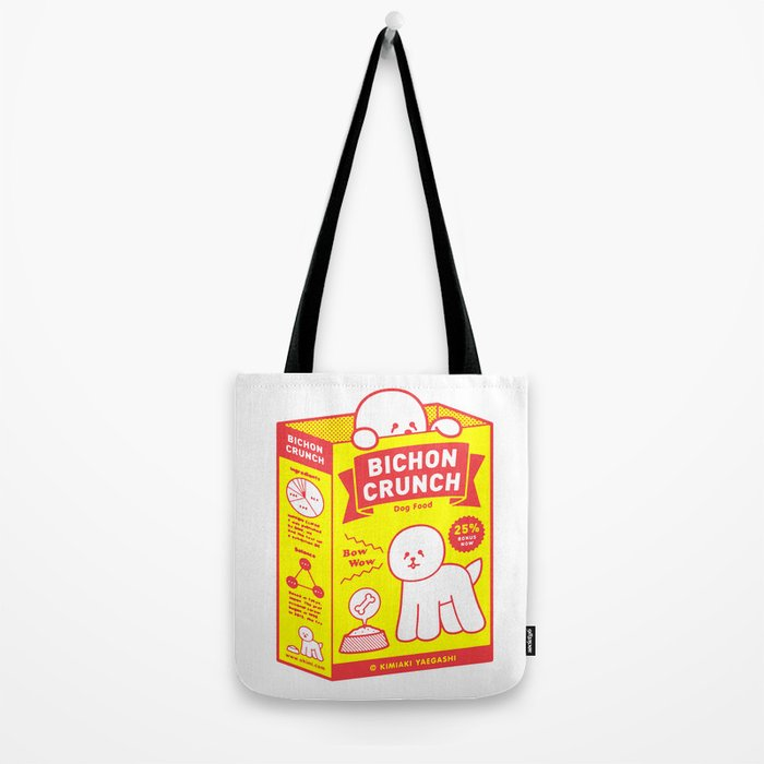BICHON CRUNCH Tote Bag