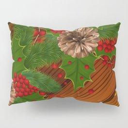 Christmas background Pillow Sham