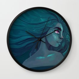 Blue is the warmest colour Wall Clock
