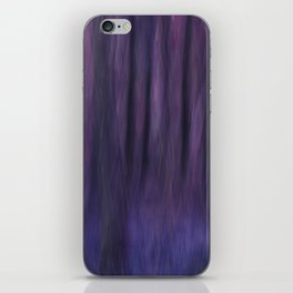 Painted Trees 2 Purples iPhone Skin