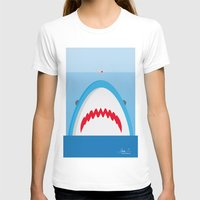 jaws T-shirts featuring Jaws by Daniel Anastasio