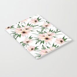 Pink bouquet. Watercolor Notebook