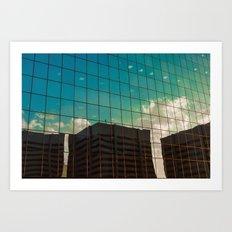 glass sky Art Print