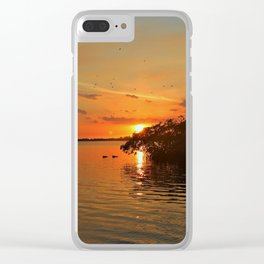Darkness on the Edge of Light Clear iPhone Case