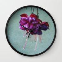 dancing Wall Clocks featuring Dancing by Kim Hojnacki Photography