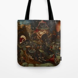 CHRIST IN LIMBO - HIERONYMUS BOSCH  Tote Bag