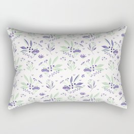 Bouquet Garni Herbs Rectangular Pillow