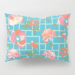 Chinoiserie Geofloral Pillow Sham