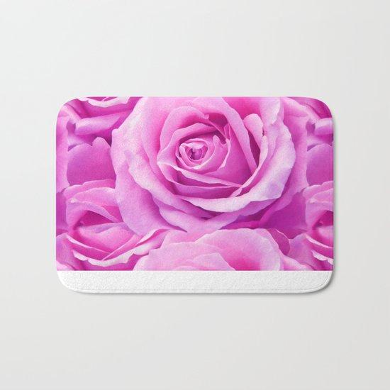 Soft Pink Rose Bath Mat