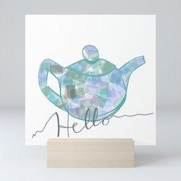 Blue Brew Mini Art Print