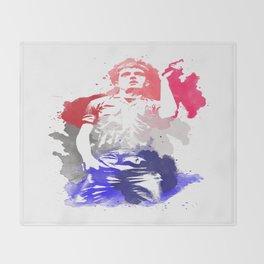 Ian Curtis Throw Blanket