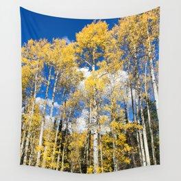 Colorado Aspens Wall Tapestry