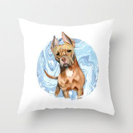 Bunny Ears 5 Throw Pillow