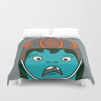 sports Duvet Covers featuring Sports?! by Aron Gelineau