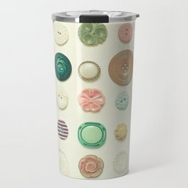The Button Collection Travel Mug