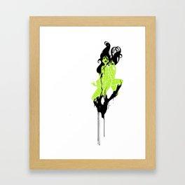 virtual  sirens  Framed Art Print