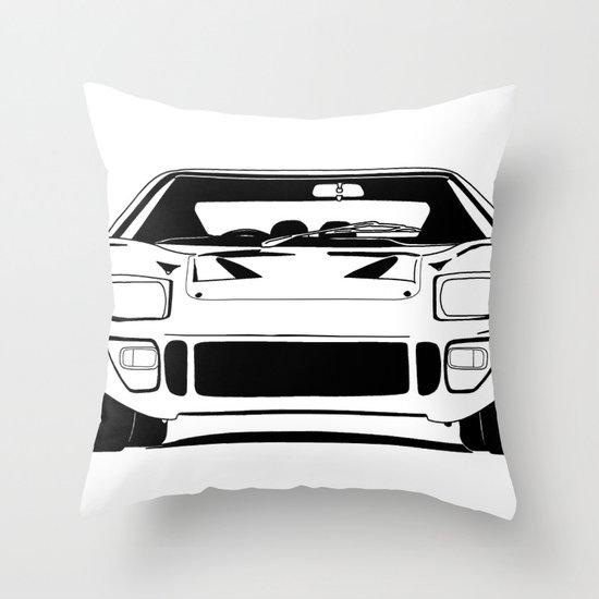 GT40 Throw Pillow