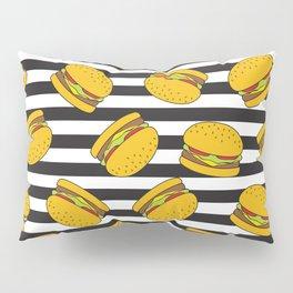 Burger Stripes By Everett Co Pillow Sham