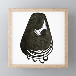Mother and Child Framed Mini Art Print