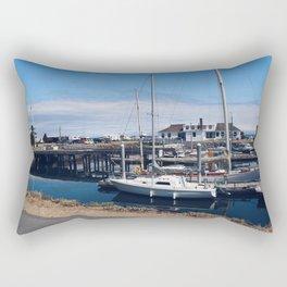 Let's Go Boating Rectangular Pillow