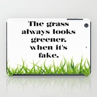 grass iPad Cases featuring GRASS by C O R N E L L
